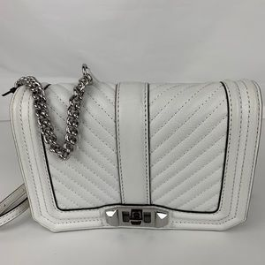 New Rebecca Minkoff Chevron Small Love Crossbody